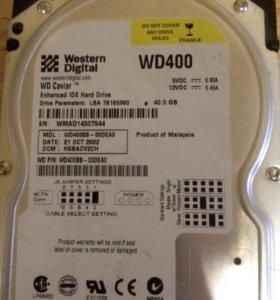 WD Caviar WD400 IDE 40Gb