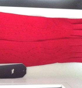 Перчатки женские длинные новые