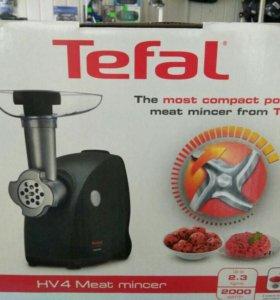 Мясорубка мощная Tefal (новая)