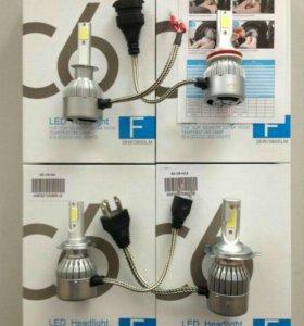 Светодиодные лампы H4,Н7,H1,H11