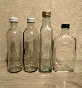 Бутылки для декора (декупаж, роспись)