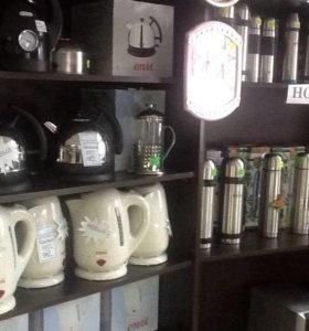 Чайники электрические,термоса и прочее
