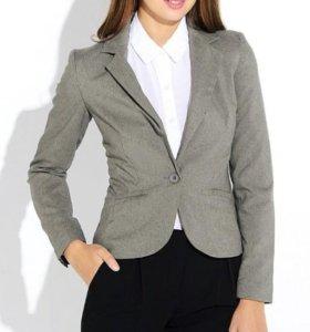 Пиджак серый с биркой размер S