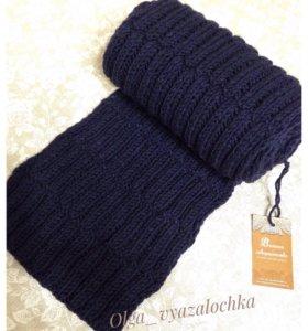 Вязаный шарф (новый)