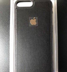 Кожаный чехол на айфон 7 плюс