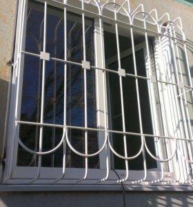 Решётки, ворота, двери