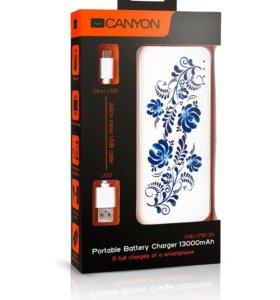 Новый внешний аккумулятор CANYON 13000 mAh