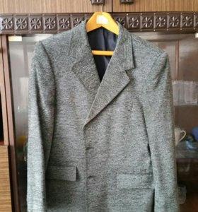 Пиджак мужской размер 46