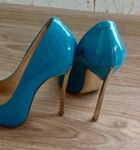 Новые кожаные туфли  ITALY 🇮🇹
