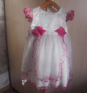 Платье на девочку 30 размер