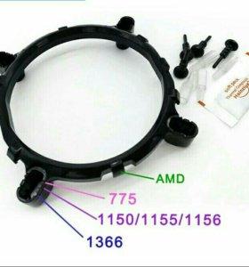 Кронштейн для установки кулера AMD на Intel