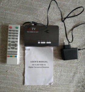 Приставка DVB T-T2