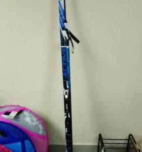 Лыжи крепл NNN длина 200 см палки в комплекте