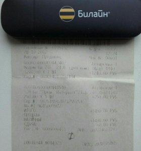 Модем USB Билаин 3 G