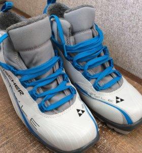 Fisher 39 р ботинки лыжные