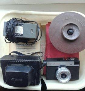 Фотоапапрат Смена 8М ретро.
