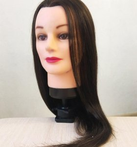 Голова манекен (натуральные волосы)