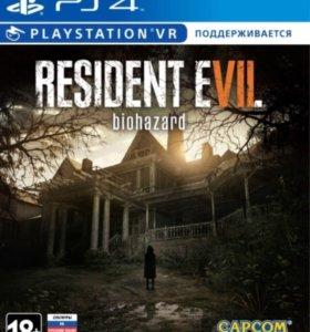 Новая Игра ps4 Resident evil biohazard