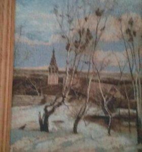 Картина А Саврасова