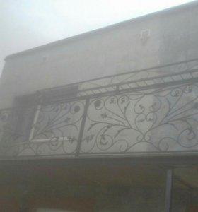 Балконные ограждения,перила.
