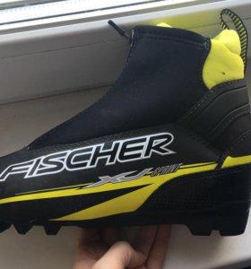 Лыжные ботинки Fisher sj sprint.
