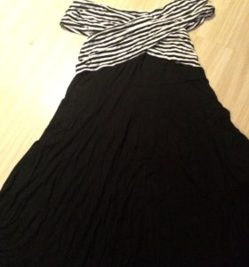 Новое трикотажное платье
