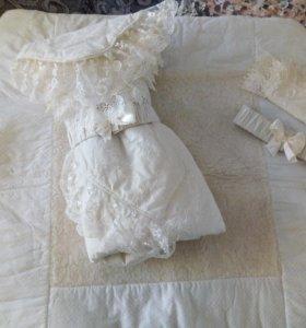 Одеяло-конверт на выписку зимнее