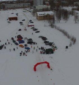 Аэрофото и видео съемка с квадрокоптера