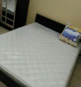 """Кровать """"Марс Эко""""160х200 с матрасом"""