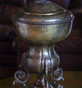 Крюшонница конец XIX века латунь