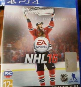 NHL 16 PS 4 диск