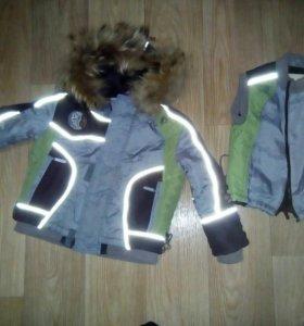 Куртка рост 110