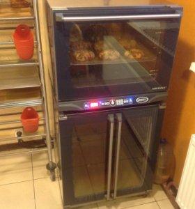 Печь- духовка UNOX XFT 135 с расстоечным шкафом