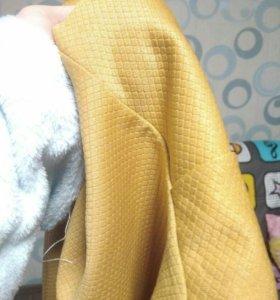 Новая женская блузка с баской