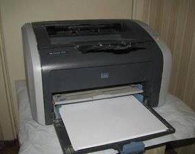 Принтер HP LaserJet 1010 бу