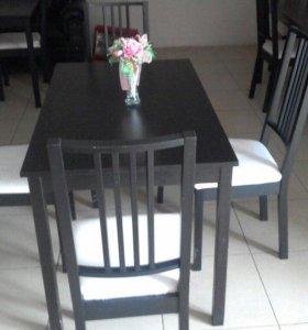 Мебельный комплект [Стол +4 стула]