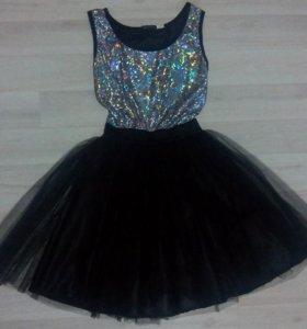 Новое платье( в подарок новый клатч)