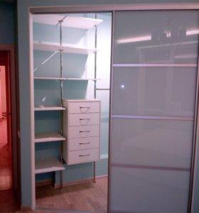 Гардеробные комнаты в квартиры и частные дома.
