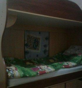 Кровать 2-ух ярусная