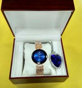 Часы baosaili ( баосаили )+кулон