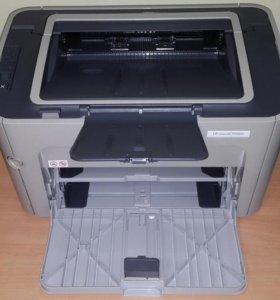 Принтер HP LaserJet P1505N бу