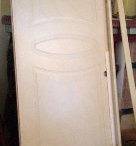 2 двери (шпон)