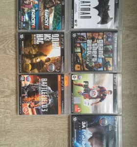 Sony PlayStation 3 super slim +  игры