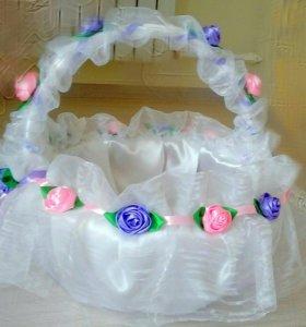 Свадебная казна(сундук) и корзина