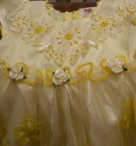 Платье возраст от 6 месяцев до года