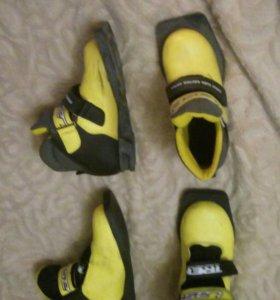 Лыжные ботинки  31р.