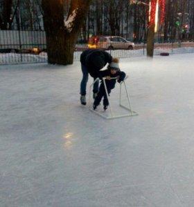 Опора для катания на коньках