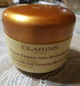 Автозагар крем Clarins mousse auto-bronzante