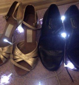 Бальные туфли/джазовки