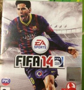 Игра на xbox 360 FIFA 14